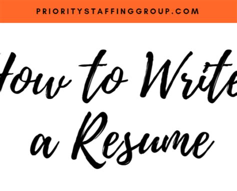 How to write a stand-out resume for teenagers - The Kids